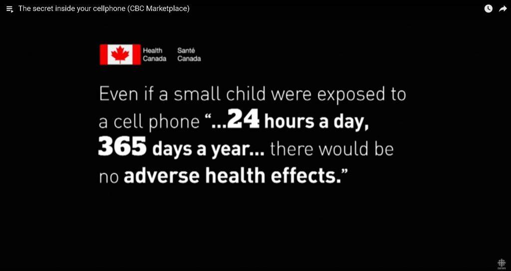 Health Canada - No Risk?
